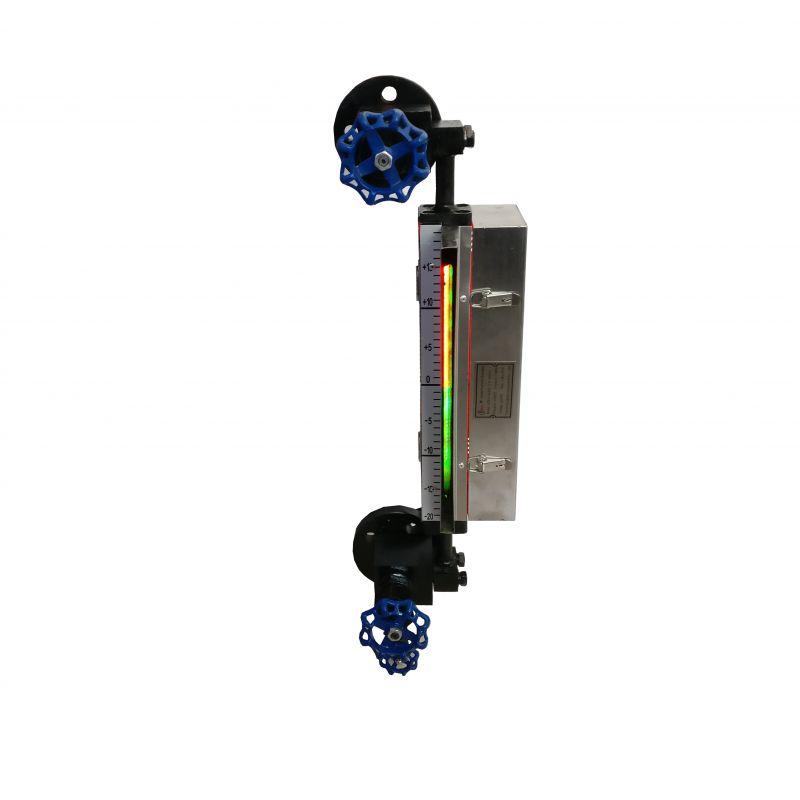 带灯式双色石英管液位计工作视频