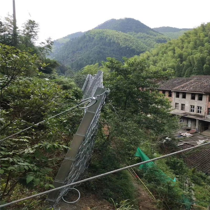 包山主动边坡防护网 边坡防护网配件 钢丝绳网片价格