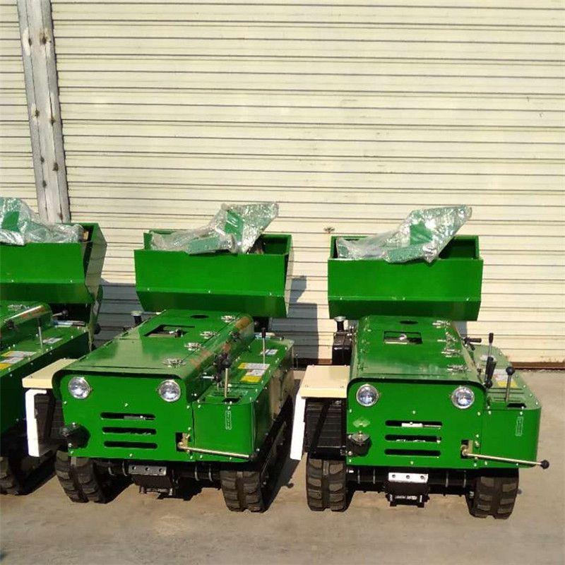 果园树木施肥开沟机 多功能柴油动力履带式开沟机 旋耕除草机