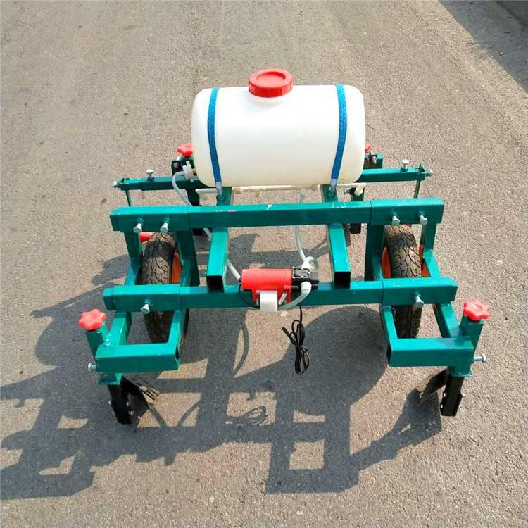 人力小型手推打药覆膜机盖膜机/宽窄可调农用覆膜机