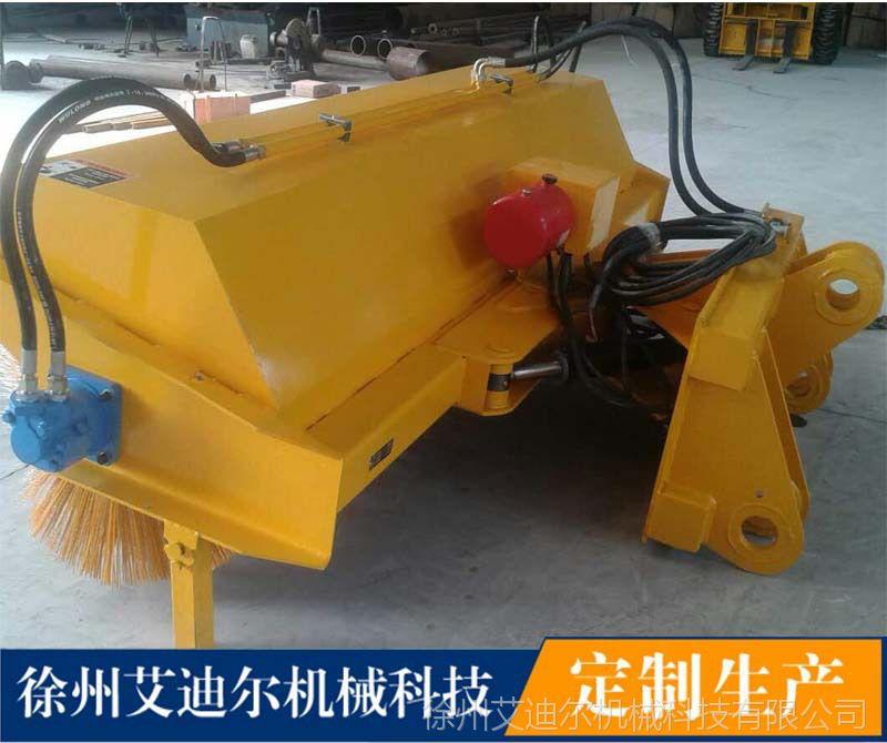 乌鲁木齐扫雪清扫器价格滑移装载机配冬季清理积雪设备厂家
