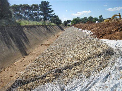 热镀锌高锌格宾石笼网护坡护岸水利工程