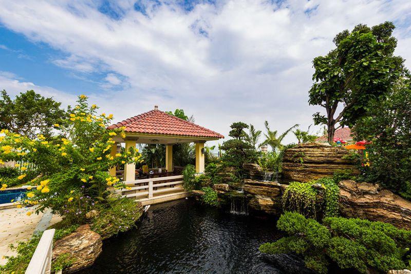 五行园林19年专业假山鱼池设计,假山鱼池施工保质保量!