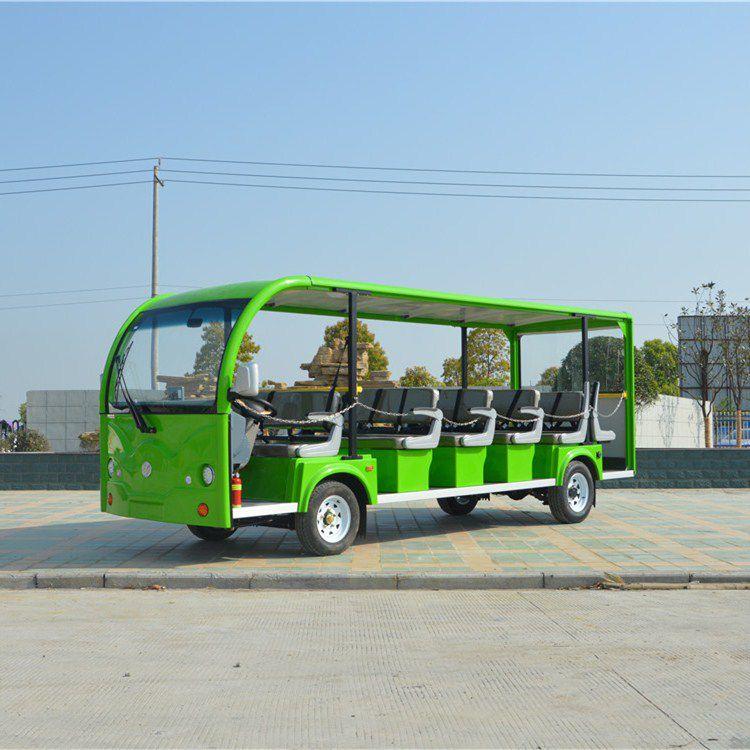 宜昌鑫威电动车,23座景区观光车厂家,景区游览观光车价格
