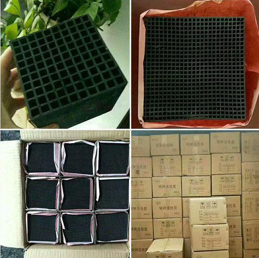 蜂窝活性炭 防水蜂窝活性炭厂家 北京废气处理活性炭