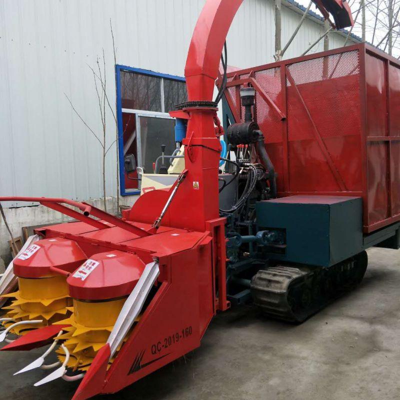 自走大型玉米秸秆青储机 青饲料收获机 高速转盘青储机