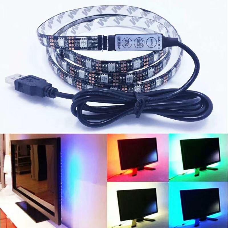 LED黑壳TV灯带/防水TV灯带/适合各大电商需求