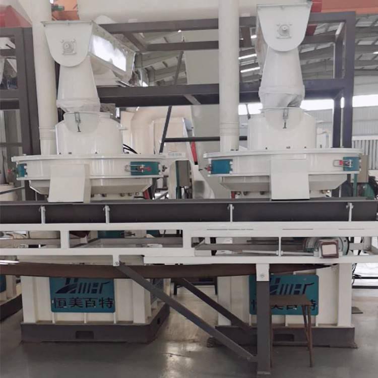 云南颗粒机厂家 恒美百特生物质锯末颗粒机生产线