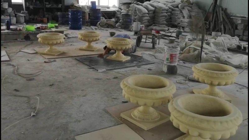 河南天目供应砂岩雕塑/砂岩花盆、坚固耐用