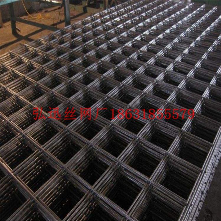 电焊网黑铁丝网片_弘迅电焊网厂批量供应