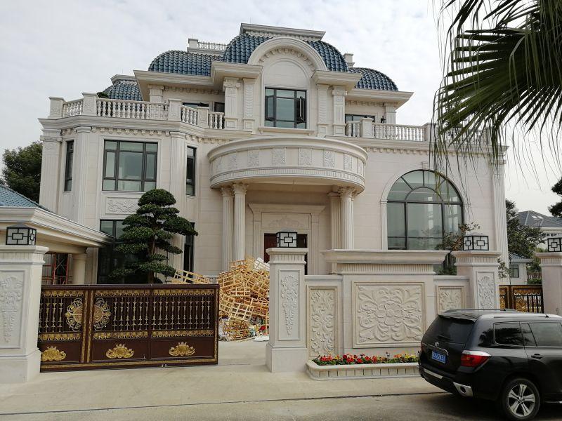 浮斐尼工程案例 复古风格质感艺术涂料 内墙艺术水漆包工包料 别墅专用