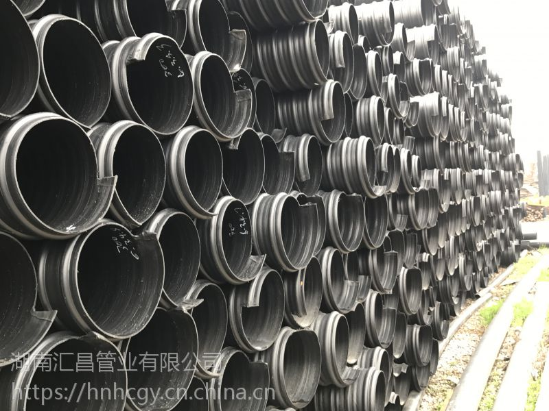 赣州钢带管_江西 HDPE钢带增强螺旋波纹管 汇昌管业