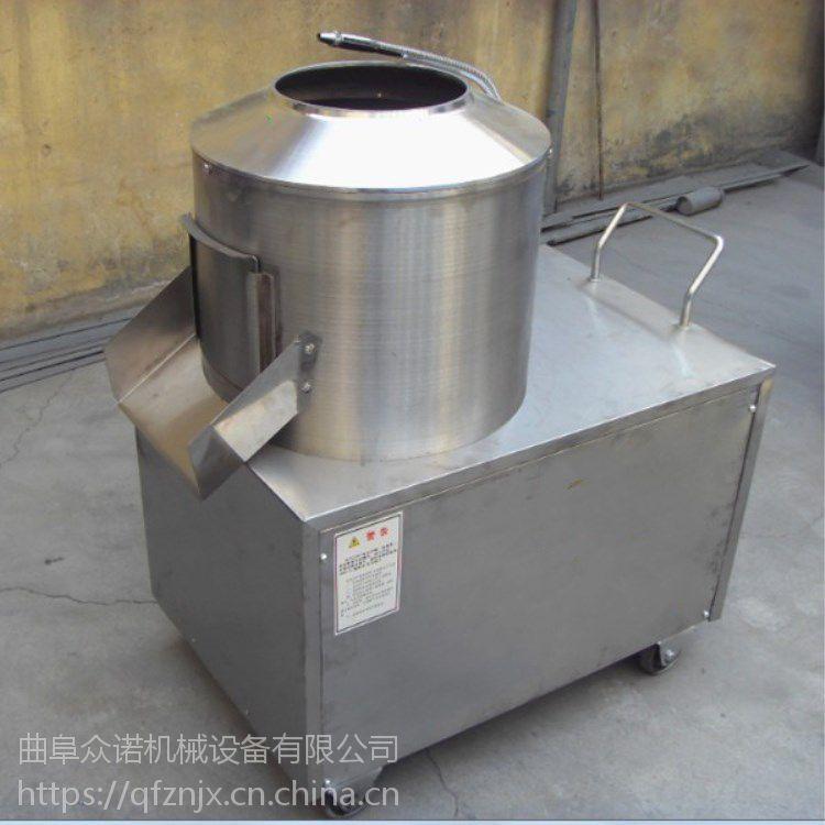 全自动土豆削皮机 去皮机价格 果蔬加工设备 1