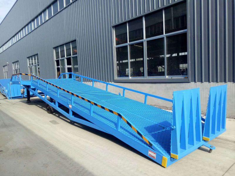 航天现货供应集装箱装卸货平台电动手动移动式登车桥欢迎订购!