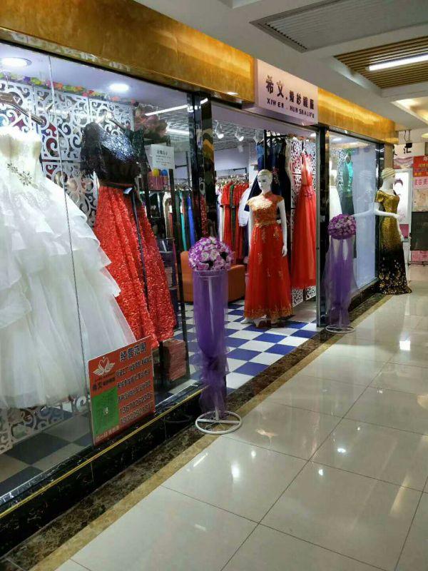深圳宝安(西乡、福永、松岗)沙井礼服店附近礼服出租出售晚礼服