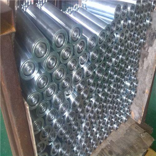 枣庄滚筒输送机 专业生产线和转弯滚筒线