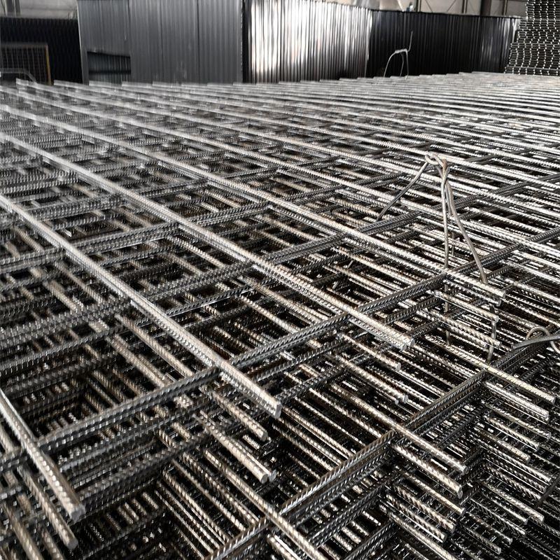 钢筋网生产厂家@碰焊粗丝网片