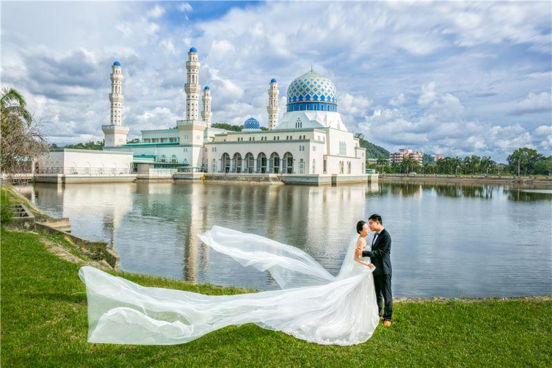 沙巴旅拍代拍,马来西亚旅拍婚纱照代拍巴厘岛三亚大理等外景基地
