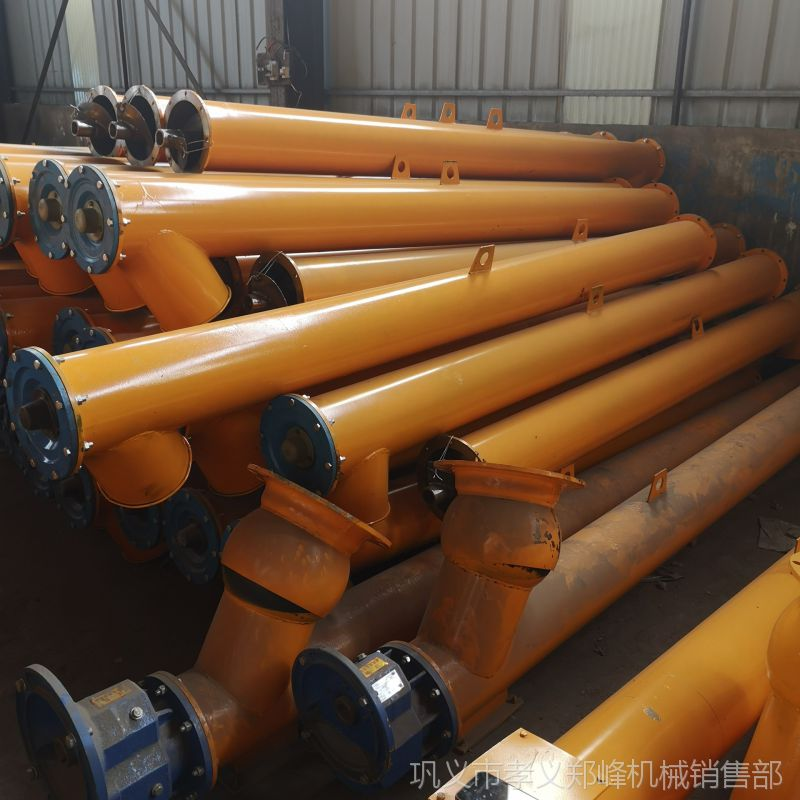 现货螺旋输送机 螺旋上料机 螺旋绞龙输送机 绞龙上料机 输送泵