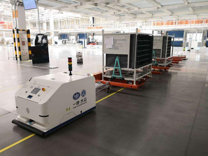 激光叉车agv 瑞士Bluebotics改造纯电动激光叉车