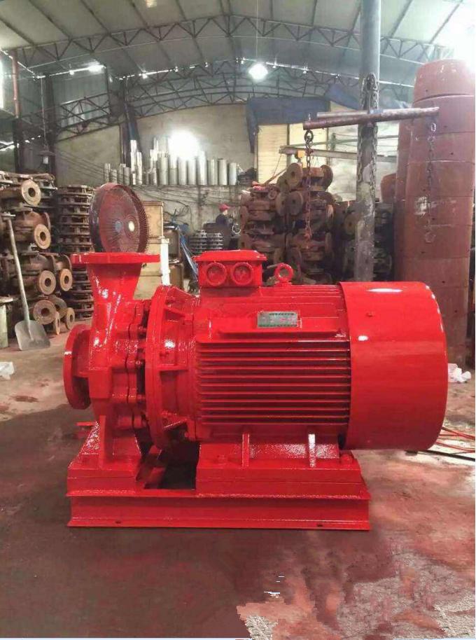 消除泵厂家 上海北洋泵业永嘉分公司 消防泵生产车间