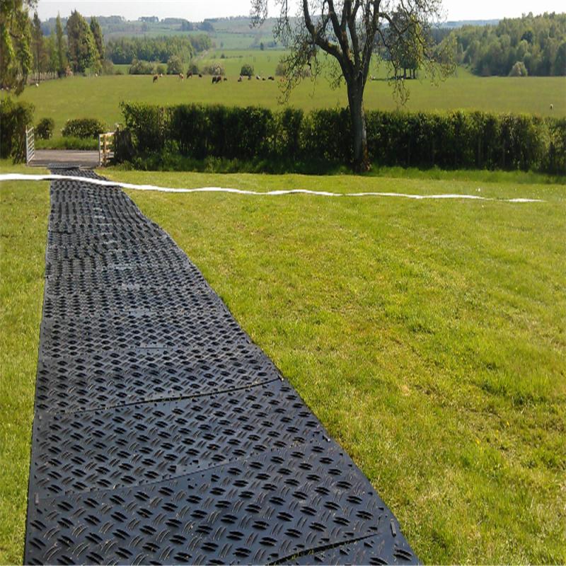 快速安装方便使用地面保护铺路板 hdpe聚乙烯临时路板 厂家直销
