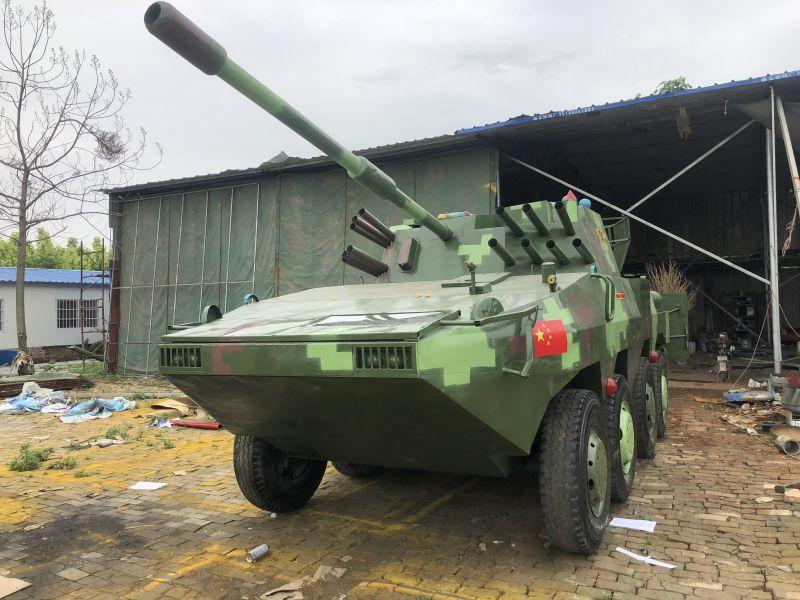 河南工厂发货军事展模型厂家