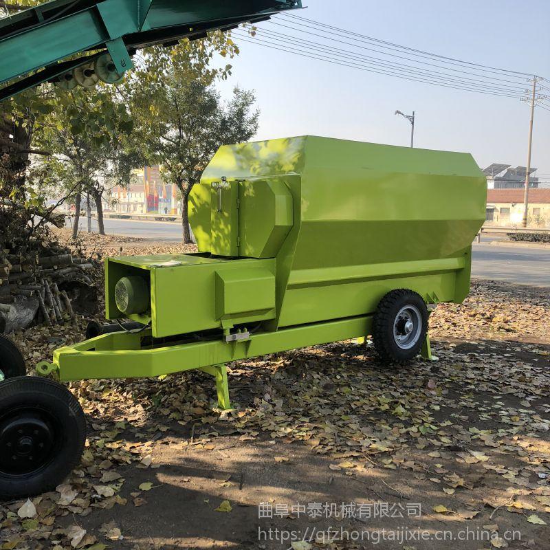 设有过载保护系统、电机保护系统的TMR饲料搅拌机