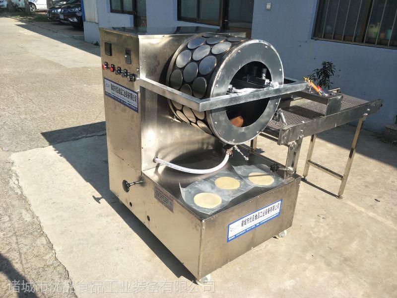 优质烤鸭饼薄饼机价格 优品直供春卷皮机