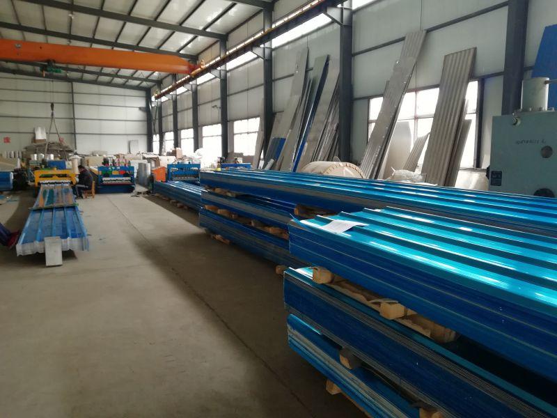平阴恒顺铝业有限公司压型合金铝板生产,彩涂压型铝板生产