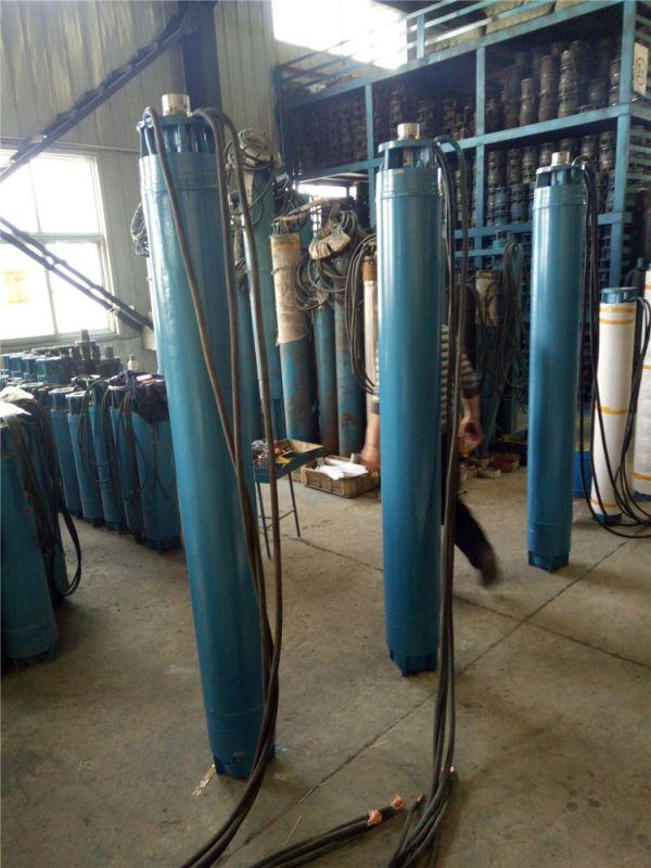 高扬程深井泵_热水大流量潜水泵_温泉井用潜水泵
