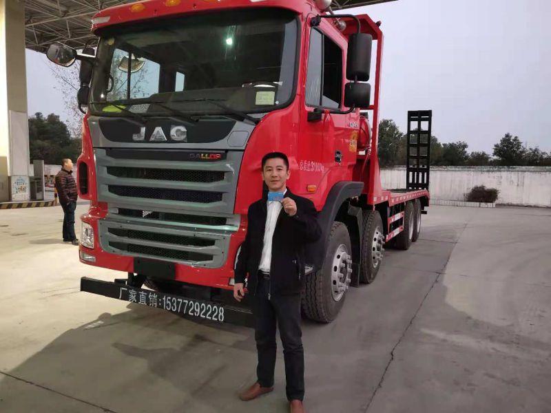 江淮A系列挖机拖车 拉400重型机械运输车价格2.0L排量