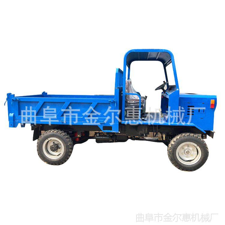 四轮拖拉机高频率柴油运输车  双排轮四不像可改装 混凝土四不像
