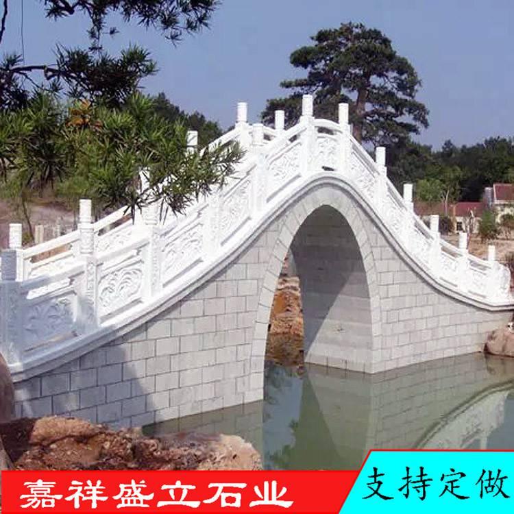 汉白玉石雕栏杆厂家批发桥梁两侧防护栏雕塑仿古公园围栏
