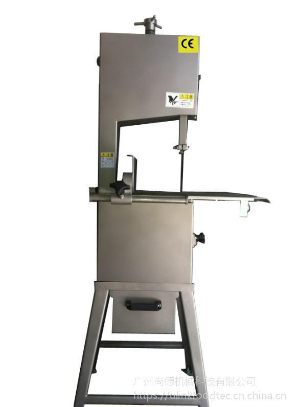 小型落地式锯骨机ULINK-LM-818 适用于各类带骨物料、冷冻肉等物料切割。