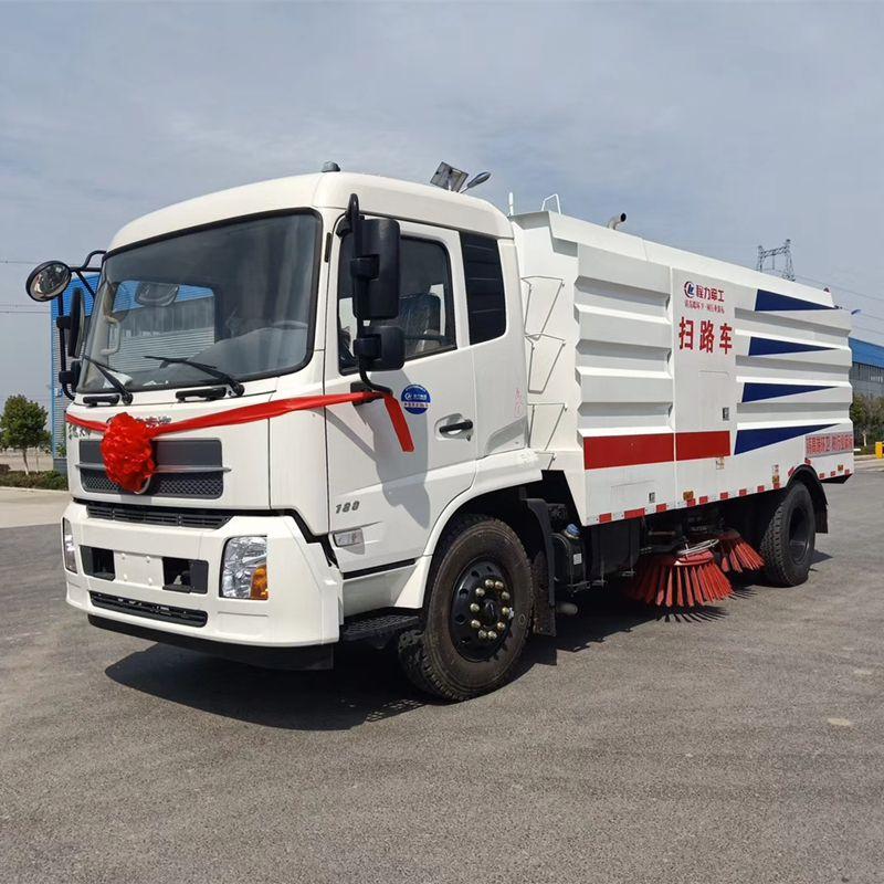 供应10方道路清扫车 东风天锦 扫路车DFH1180TSLE型 价格优惠 !