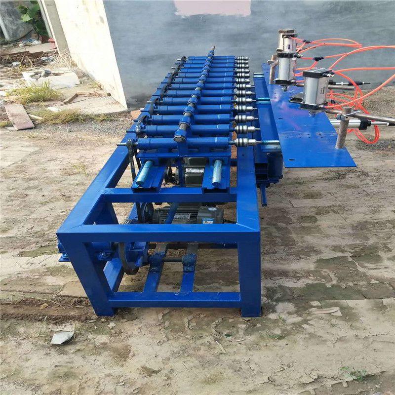智联恒兴机械多轴打眼机榫槽机排钻摇摆钻适用于床梯子的制作zlhx-34