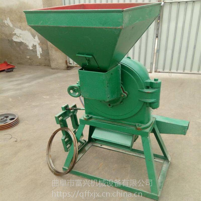 富兴玉米去皮磨面机 家用小麦玉米打面机 锥形磨头磨面机价格