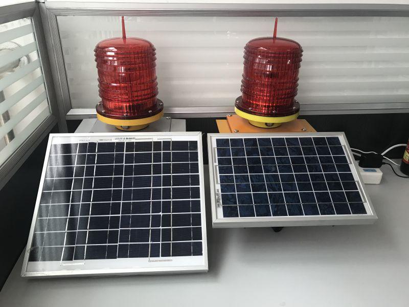 太阳能GPS无线同步闪烁工作视频