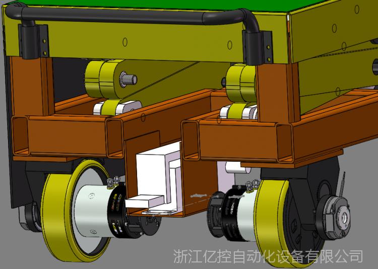 物流转运,工成工具车改造智能化AGV小车,专用意大利CFR舵轮