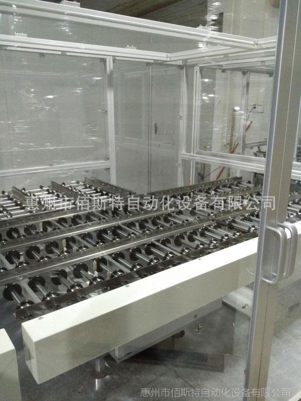 惠州佰斯特手机玻璃UPE滚轮输送线体