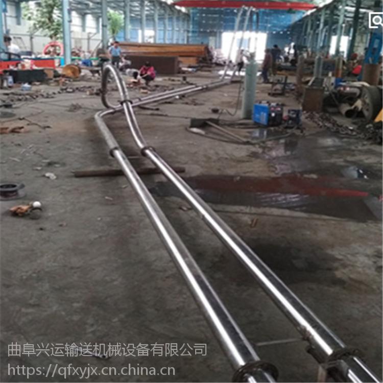 专业从事管链输送机公司各种规格 石英砂灌仓垂直管链机连云港