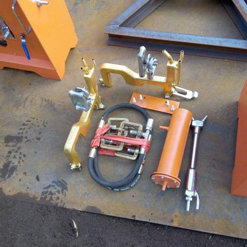 钢轨热处理正火设备卡博恩感应钢轨焊缝正火机正火设备