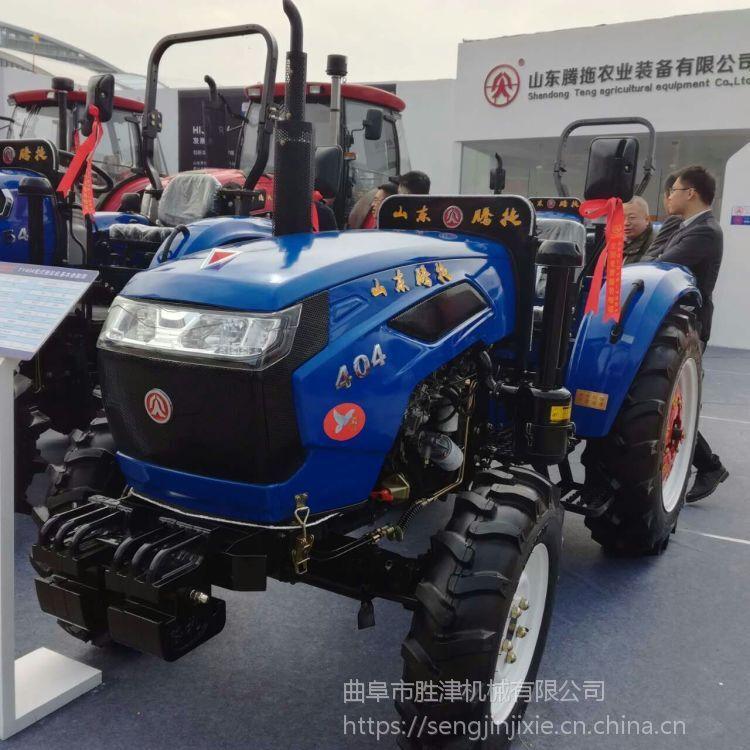 涡轮增压式四轮拖拉机 土壤耕种用拖拉机 大棚深耕翻土旋耕机