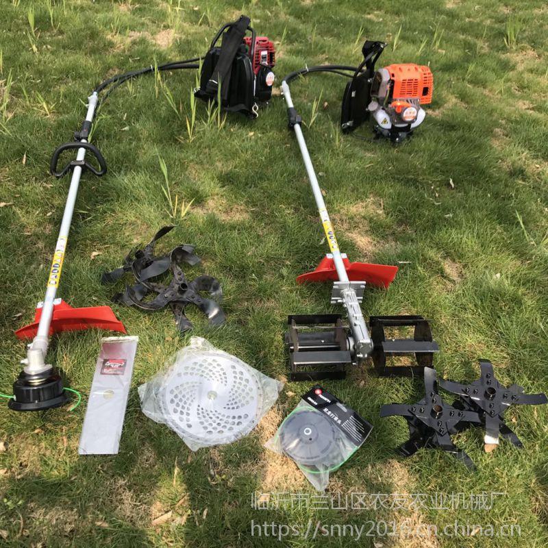 背负式小型锄草机 果园大棚农田背负式锄地机 便携式除草松土机图片