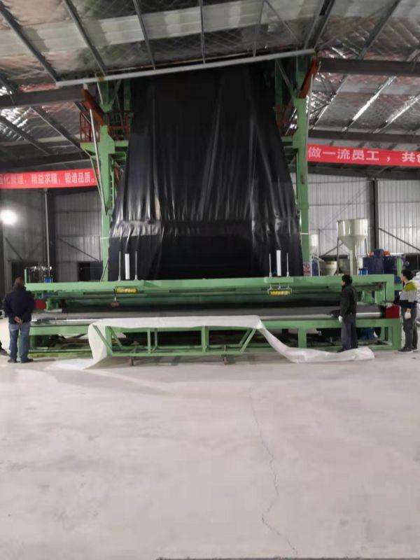 重庆土工膜厂家-化工集团1.0mm建标-HDPE土工膜生