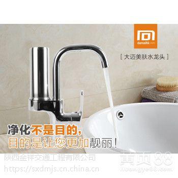 大迈净化水龙头DM-T4厨房菜盆冷热净水器 除垢除氯大流量