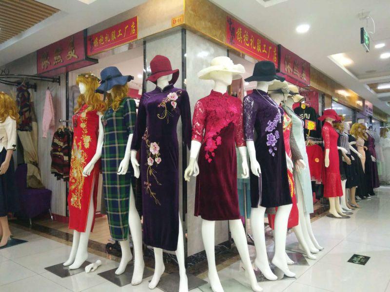 深圳宝安(福永、松岗、公明)旗袍店附近旗袍店厂家直销