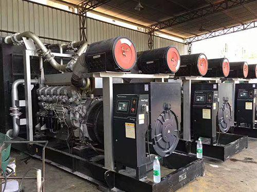 300台二手柴油发电机组现货供应 销售二手发电机组