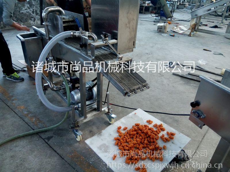 专业配套红糖麻花裹糖浆机 电加热全自动油炸机 麻果油炸生产线